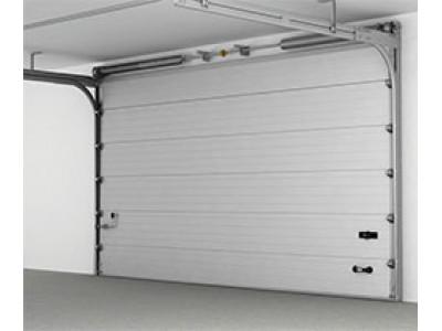 Гаражные секционные ворота RenoMatic 2750 x 2250 с электоприводом под ключ