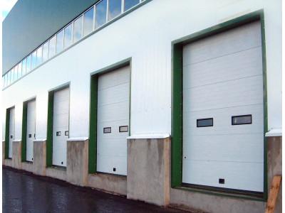 Промышленные секционные ворота г.Аксай