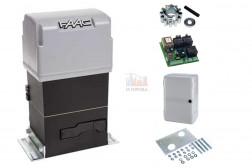 FAAC 844 R 3PH комплект привода для откатных ворот (шестерня Z12) 109896