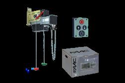 FAAC 540X BPR KIT комплект автоматики для секционных ворот 109511