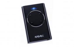 Faac XT4 пульт-брелок 433 МГц, 2-канальный, черного цвета 7870081