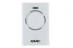 Faac XT4 белый пульт-брелок д/у для ворот и шлагбаумов 787010