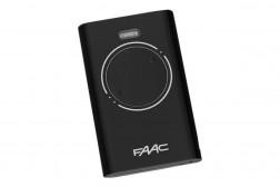 Faac XT2 пульт-брелок 433 МГц, 2-канальный, черного цвета 7870071