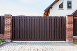 Ворота откатные без облицовки 4000х2250 мм