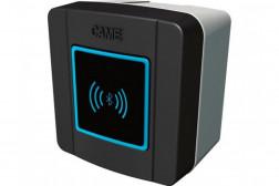 Came SELB1SDG3 считыватель накладной Bluetooth с синей подсветкой для 250 пользователей, цвет RAL7024 (806SL-0250)