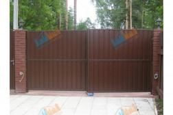 Ворота распашные 3500х2250 мм