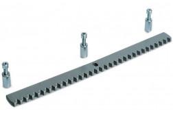 FAAC Рейка зубчатая оцинкованная 30х12х1000 мм 490122/1