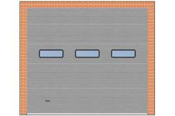 Панорамные ворота ProPlus 3000×2700