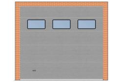 Секционные ворота ProTrend 3000×2700